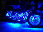 "Motorcycle Car SUV Wireless Remote Control 12"" 30CM 15 LED Light Strip Blue"