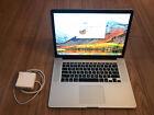 Apple Macbook Pro Retina 15 A1398 i7 Up to 3.5 GHz 16GB Ram 256 GB SSD Duo Video