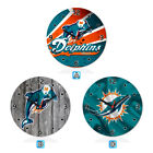 Miami Dolphins Football Wall Clock Home Office Room Decor Gift