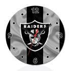 Oakland Raiders Football Fans Wall Clock Home Office Room Decor Gift
