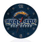 San Diego Chargers Football Wall Clock Home Office Room Decor Gift