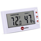 Easy to Read: Indoor Digital Thermometer and Humidity Meter. Large Display Works