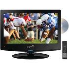 "15.6"" Class HD LED TV/DVD Combo, 720p, 60Hz, HDTV Flat Digital Antenna, HDMI,USB"