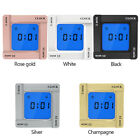 Digital Flip Home Alarm Clock Time Manager Reminder Vibration Countdown Timer