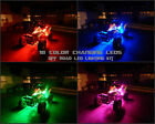 18 Color Led RZR 4 900 ATV UTV Quad 4 Wheeler 8pc Led Under Body Light Kit