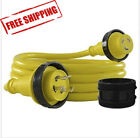 Conntek 17105-012RE 30A 125V Marine Shore Power Cord Yellow