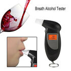 Black Breath Home Alcohol Tester Backlit Display LCD Digital Anti-drunk Driving