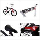Dynacraft Magna Throttle Boys BMX Street/Dirt Bike 20quot, Black/Red/White