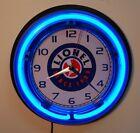 LIONELTrains neon logo wall clock