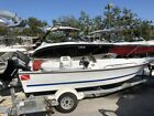 2001 Logic 17ft Side Console with Johnson 70hp