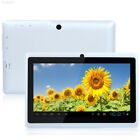 "37B2 7"" inch Quad Core Android 4.4 Tablet PC 1+16GB Wi-Fi Dual HD Cam White"