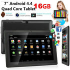 4220 67C6D0F New 7'' 16GB Android 4.4 Tablet PC Quad Core HD WIFI Phablet US