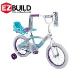 Girls Bicycle 16 Bike Training Balance Wheels Children Kids Sleigh Doll Carrier