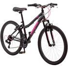 "24"" Mongoose Excursion Girls' Mountain Bike Black Outdoor Fun Ride Sports"
