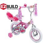 Girls Bicycle 12 Bike Training Balance Wheels Pink Child Kids Disney 1 Speed