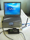 WORKING Rarity Sony VAIO Notebook PCG- R505ECK(641R) w/battery +DOCKING STATION