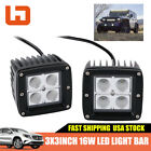 Yamaha Raptor 660/700R 16W Cube Pods Flood OffRoad Driving Fog Lights Work Lamp