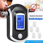 Breath Alcohol Tester Breathalyzer Analyzer Detector  LCD Digital Police N0B9J