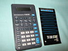 Texas Instruments TI-30 Stat Scientific Calculator From 1987 Works Great
