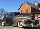 1946 Cadillac Fleetwood  1946 Cadillac Fleetwood Series 75 Limo Limousine Patina Rat Rod Air Ride