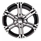 4/115 ITP SS212 Alloy Series Wheel 12x7 5.0 + 2.0 Machined ARCTIC CAT 250 2x4 20