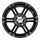 4/115 ITP SS212 Alloy Series Wheel 12x7 5.0 + 2.0 Matte Black ARCTIC CAT 250 2x4
