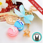 Macaron Paris Eiffel Tower Cute Kawaii Keychain Key Ring Charm Bow Bag Accessory