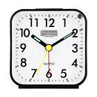 Reloj Despertador Analogico Con Bateria Pequena Silencioso No Tic-tac, Ligh