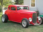 1932 Ford Model A CUSTOM 1932 FORD 5 WINDOW COUPE HOT ROD CUSTOM MODEL A OUT STANDING FIT AND FINISH ROD