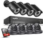 SANNCE 8 Channel 1080P AHD CCTV DVR Recorder with 8x 1920*1080p In/Outdoor Day