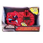 Marvel Spider-Man Night Glow Alarm Clock Sound Effects Red Kids Boys Superheros
