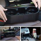 Car Seat Seam Wedge Cup Holder Food Drink Bottle Mount Storage Organizer Glove~