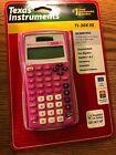 Texas Instruments TI-30X IIS 2-Line Scientific Calculator, Pink - Solar Battery