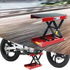 Motorcycle Scissor Jack Lift Stand Wide Deck Widow Cruiser Touring Bike 1100 LBS