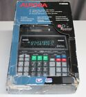 AURORA PR190M 12-digit flourescent LED 2 Color AC Power Printing Calculator NEW
