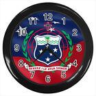 Samoa Coat of Arms #E01 Wall Clock