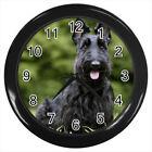 Scottish Terrier Scottie Dog Puppy #E01 Wall Clock