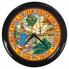 Seal of Florida United States #E01 Wall Clock