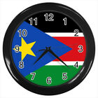 South Sudan Flag #E01 Wall Clock