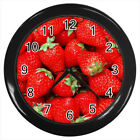 Strawberries Fruit #E01 Wall Clock