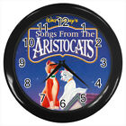The Aristocats musical comedy film #E01 Wall Clock