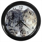 Snow Leopard Animal #E01 Wall Clock