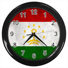 Tajikistan Flag #E01 Wall Clock
