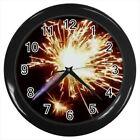 Sparkle Sticks Fireworks #E01 Wall Clock