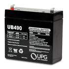 4 Volt - 9Ah - F2 Terminal (UB490)  Rechargeable Battery - UPG D5697 Sealed AGM