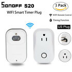 3X Sonoff S20 Smart Home Automation WIFI APP Remote Control Timer Socket US Plug