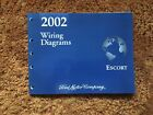 2002 Ford Escort Electrical Wiring Diagram Manual OEM