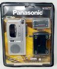 Panasonic RN-505 Handheld Cassette Voice Recorder- SILVER/NEW