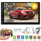 "2019 7"" HD Android 8.1 Double 2Din Car GPS Stereo Radio Player Wifi SD No DVD"