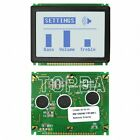 1pc  NHD-12864MZ-FSW-GBW-L Newhaven  LCD display  replacement